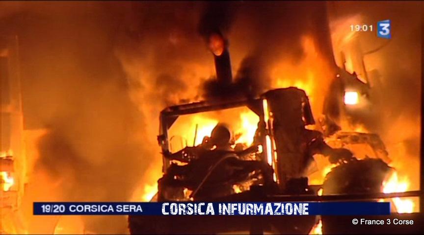 #Corse – Violence ordinaire banlieusarde : Trois voitures retrouvées calcinées à Ajaccio