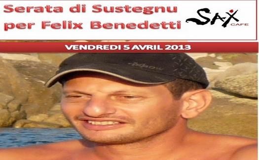 #Corse – Soirée de soutien à Félix Benedetti, militant du Rinnovu incarcéré