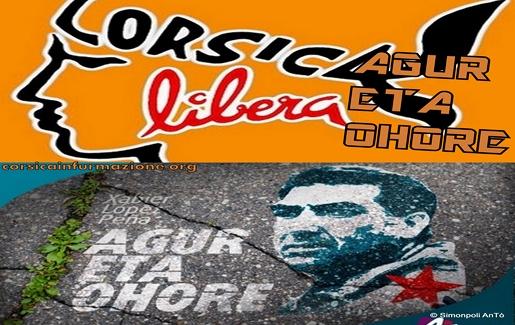 #Corse #Herrira – Corsica Libera s'incline devant la mort de Xabier Lopez Peña