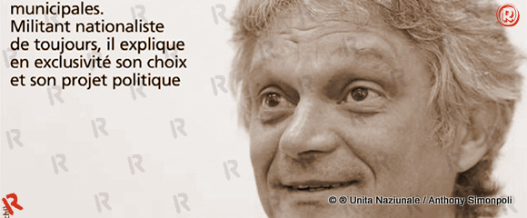 #Corse Municipales 2014 – Eric Simoni, Corsica Libera, candidat à Bastia