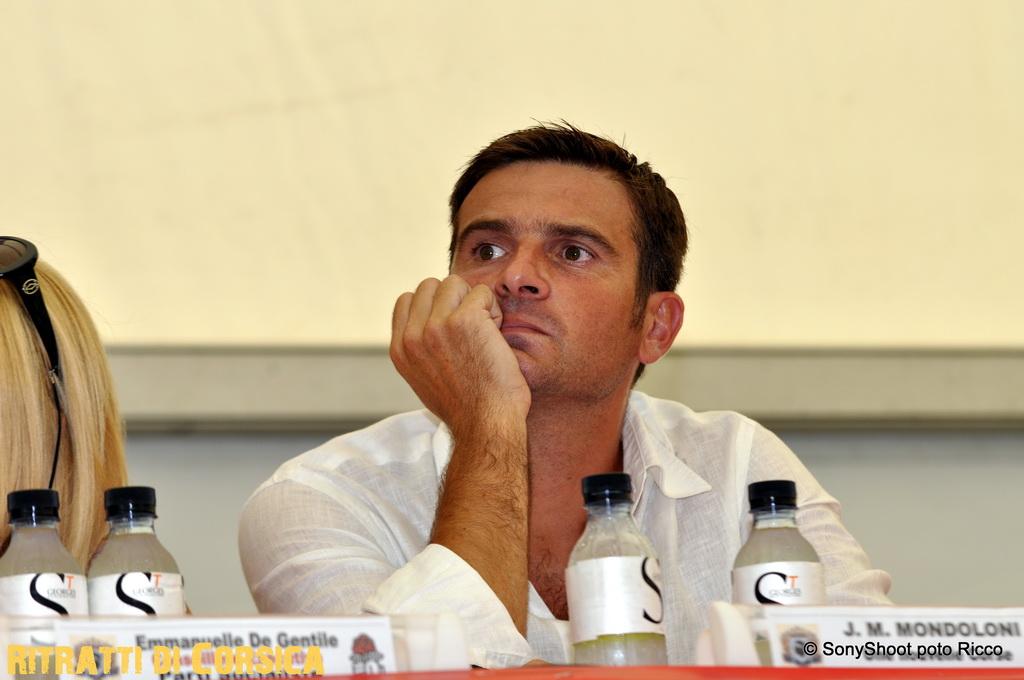 #Corse – Ghjurnate 2012 – le sentiment d'Une Nouvelle Corse, Jean Martin Mondoloni