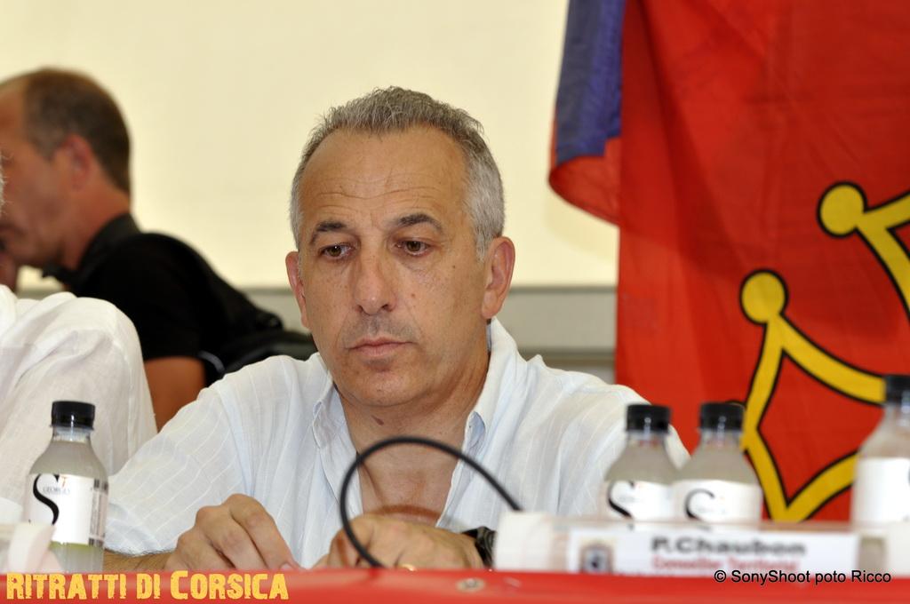 #Corse – Ghjurnate 2012 – Pierre Ghionga pour la langue corse