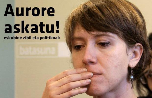 Arrestation d'Aurore Martin : Soutien d'Inseme per a Corsica #corse #auroremartin